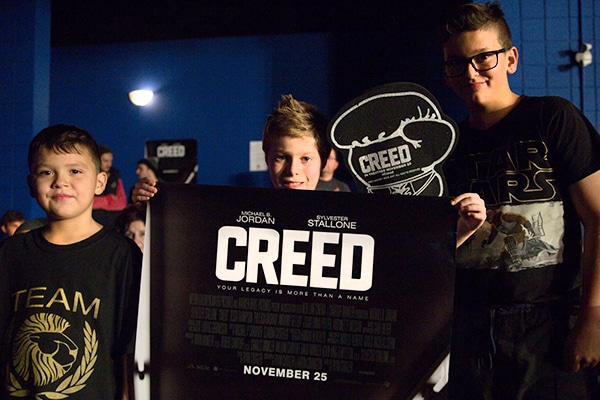 Creed Film Promotion