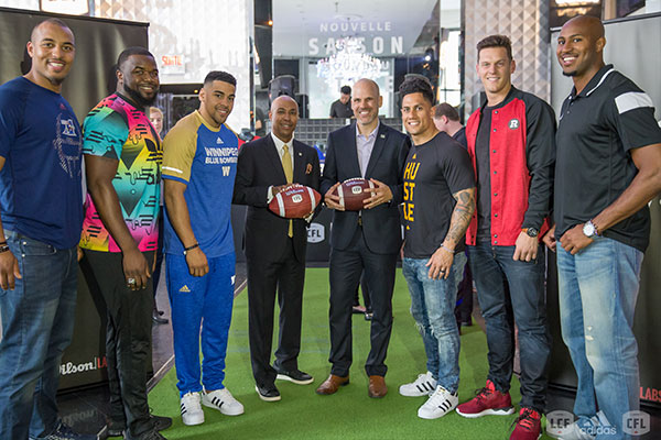 CFL Adidas Apparel Launch